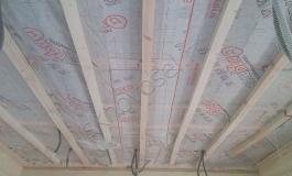 Устройство и утепление потолка
