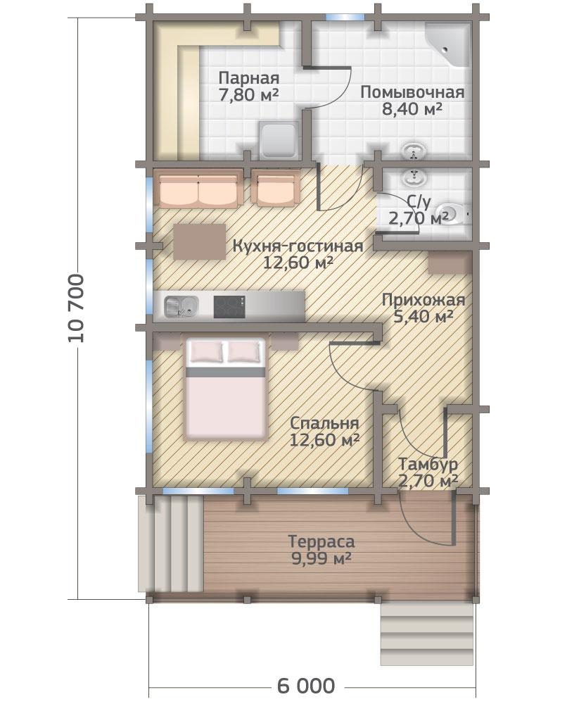 Реконструкция деревянного дома