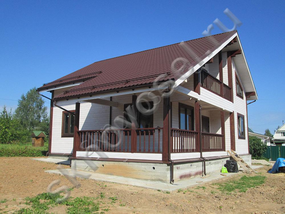 Дом из бруса в Старицком районе