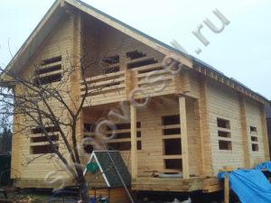 Строительство домов из профилированного бруса под ключ в Твери